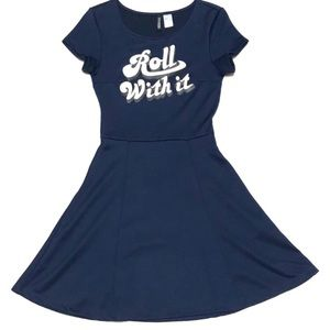 "H&M • ""Roll with It"" Skater Dress"